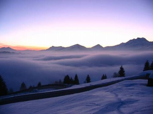 From Avoriaz : Morzine in clouds - 1